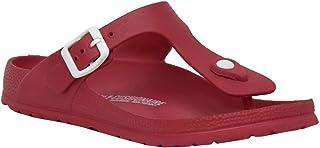 CUSHIONAIRE Women's Ella EVA Comfort Footbed Sandal with +Comfort