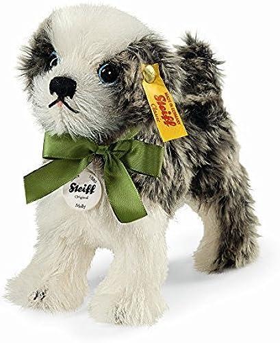 tienda de bajo costo Steiff Molly Dog ,Dark ,Dark ,Dark gris blanco, 5.5  by Steiff  Ven a elegir tu propio estilo deportivo.