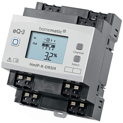 Homematic IP ELV Bausatz Funk-Schaltaktor für Hutschienenmontage 4-Fach HmIP-K-DRSI4