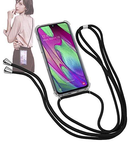 Yayago - Collana per telefono cellulare con cordoncino e custodia per Samsung Galaxy A40 - Custodia con cordino da appendere - Collare Necklace - Il Trendige, pratico e accattivante