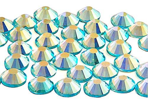 Swarovski alternativa EIMASS® elementos cristal HotFix de grado A cristales, parte trasera...