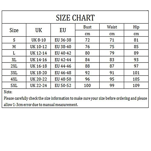 AIMEITE Womens Plus Size Swimsuit One Piece Swimdress with Shorts Swimsuit Tankini Set Tummy Control Swim Dress 2 Pieces Swimming Costume (UK 20-22, Black Style 2)