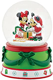 Department 56 - Mickey & Minnie Snow Globe