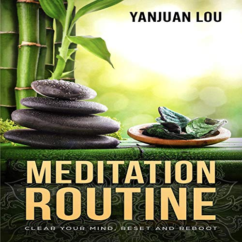 Meditation Routine  audiobook cover art