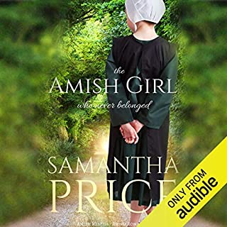 The Amish Girl Who Never Belonged audiobook cover art
