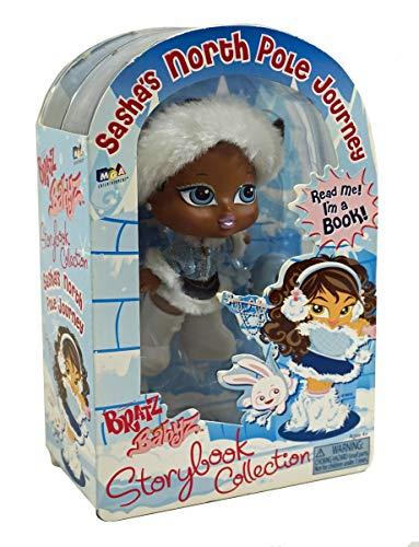 MGA Entertainment Bratz Babyz Storybook Collection - Sasha's North Pole Journey