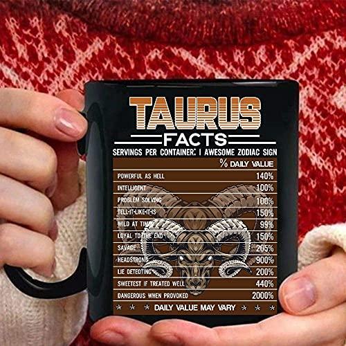 Taurus Facts Awesome For Taurus Zodiac Tazas