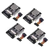 ACEIRMC 2pcs ESP32-CAM WiFi Bluetooth Camera Module Development Board ESP32 with Camera Module OV2640 2MP for Arduino (4pcs)