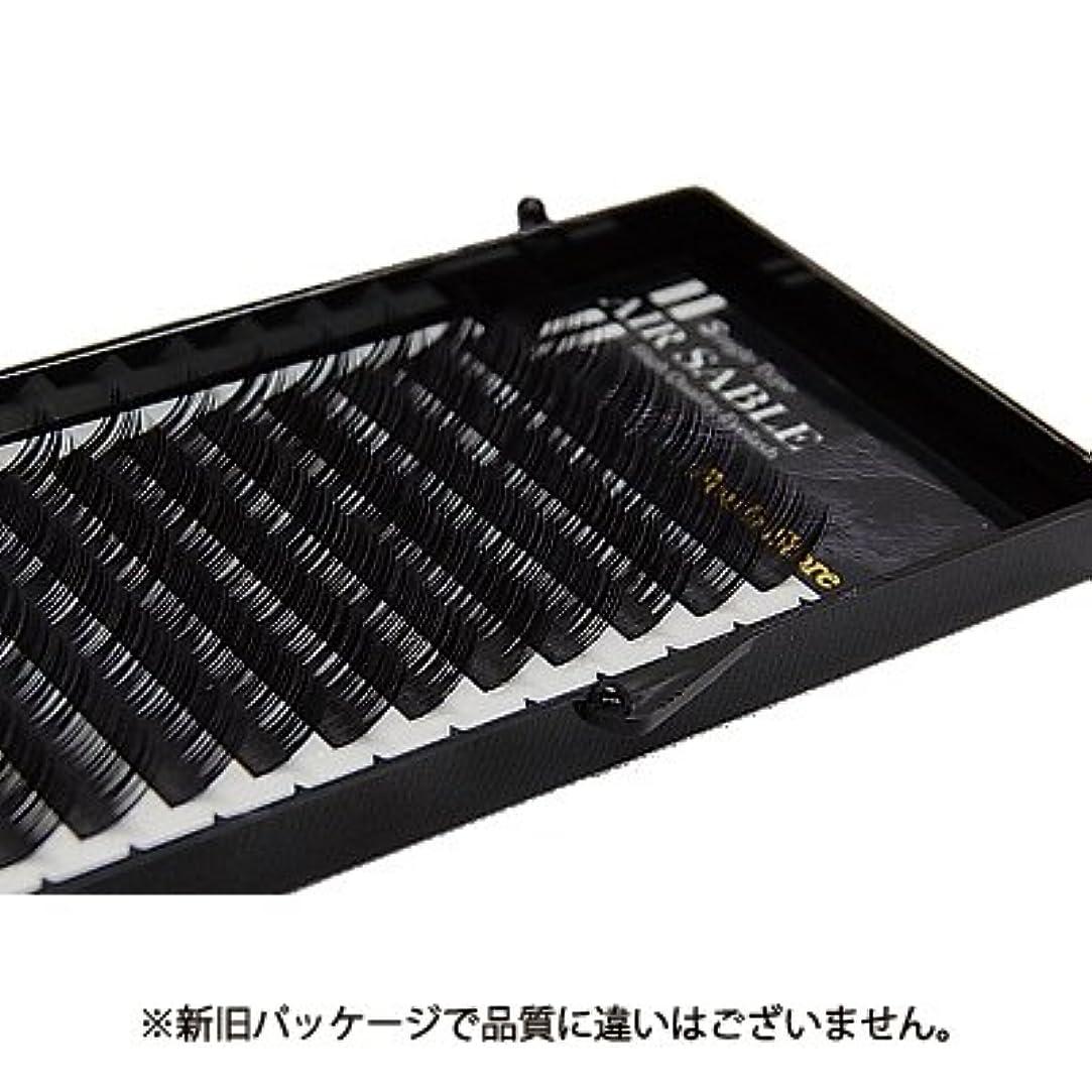 アッパーウェイドコンサート【フーラ】エアーセーブル シート 12列 Dカール 12mm×0.15mm