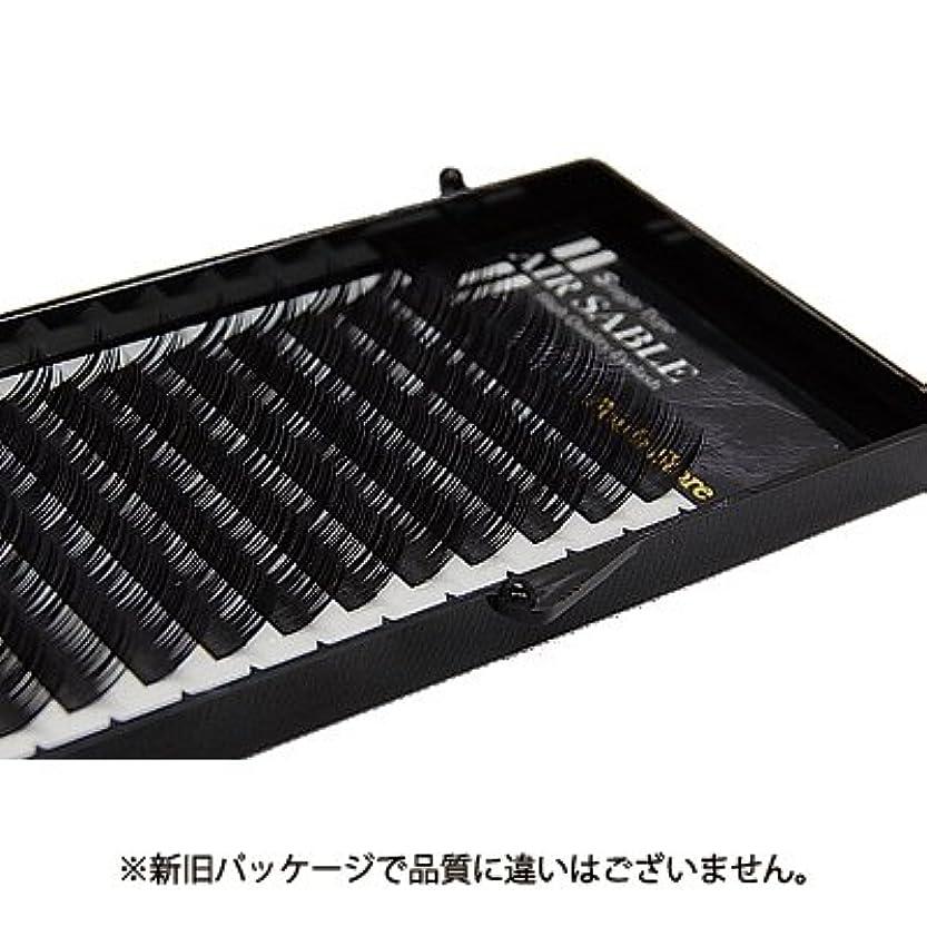 接続された絡み合いミニ【フーラ】エアーセーブル シート 12列 Dカール 12mm×0.15mm
