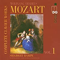Complete Clavier Works 1 by SIEGBERT RAMPE (2005-05-24)