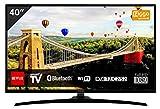 Hitachi 40HE400 TV 40 inch (102 cm) Full HD Smart tv Noir [Classe énergétique A+]