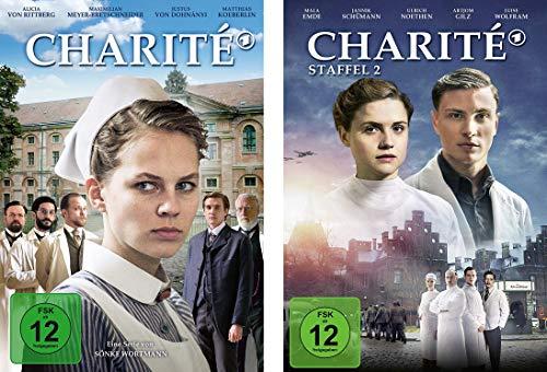 Charité - Staffel 1 + 2 im Set - Deutsche Originalware [4 DVDs]
