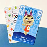 No.252 Merry Animal Crossing Villager Cards Series 3. Third Party NFC Card. Water Resistant
