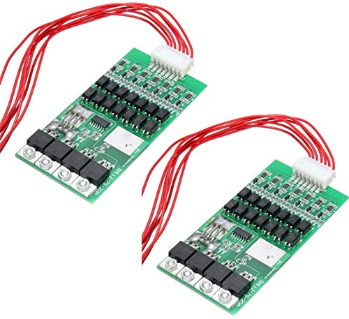 TECNOIOT 2pcs 7S 20A Li-Ion Lithium Battery BMS PCB 18650 Charger Protection Board