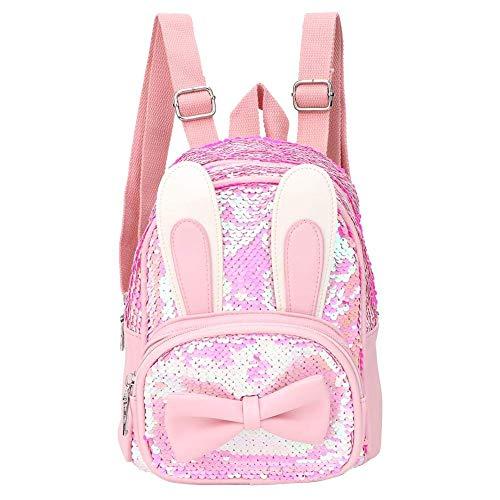 FEEE-ZC Cute Toddler Backpack with Cartoon Animal Mini Travel Bag for Little Kids Preschool Bag Children Schoolbag