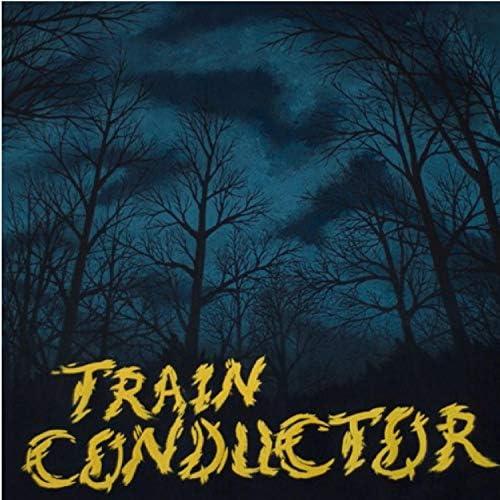 William Byrne & Train Conductor