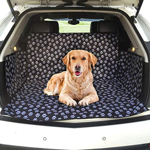 Goaijven kofferbakbeschermer voor honden achterbankmat, antislip, vuilafstotend, vuilafstotend, voor de meeste auto's, zachte reisdeken