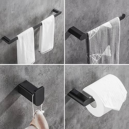 Wopeite Towel Bar 4-Piece Towel ...