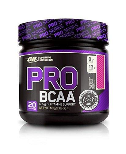 Optimum Nutrition Aminoacidi Ramificati con Vitamina C (BCAA) - Barattolo da 390 g