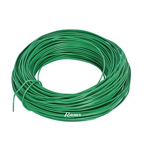 Ribiland - Lien fil acier plastifié, D. 2,2 mm, long 25 m - PRLIENF2225 - Ribiland