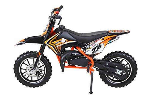 Actionbikes Gepard 49 cc Pocket Bike – Benzin (Orange) - 2