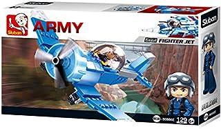 سلوبن لعبة تركيب طائرة مقاتلة ، 129 قطعة ، M38-B0666E