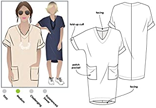 Style Arc Sewing Pattern - Adeline Dress (Sizes 04-16) - Click for Other Sizes Available