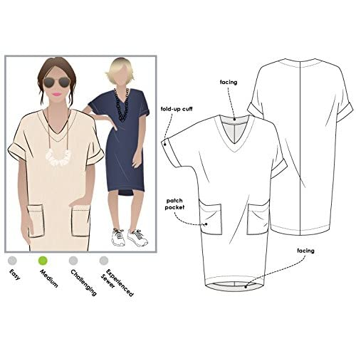 Sizes 04-16 Adeline Dress Style Arc Sewing Pattern - Click for Other Sizes Available