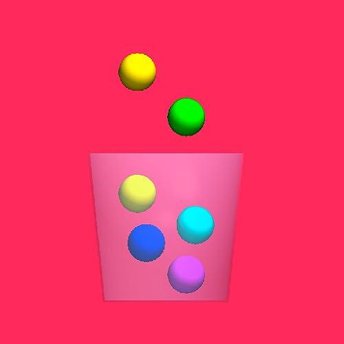 100 Zuckerkugeln 3D - Sweet Candy Mania mit Blitz Explosion Jelly