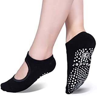 Yoga Socks Non Slip Skid Socks with Grips Pilates Ballet Barre Socks for Women