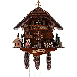 20 8-Day Movement Cuckoo Clock with Two Different Animations