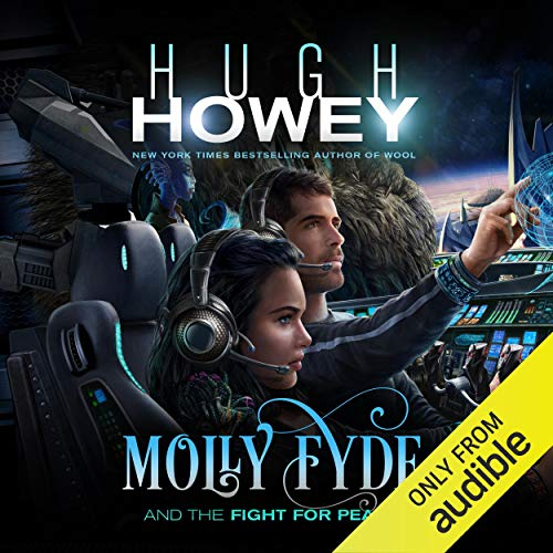 Molly Fyde and the Fight for Peace audiobook cover art