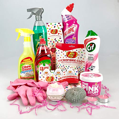 Luxury Mum Mrs Hinch Themed Hamper Gift Box Cleaning & Pampering