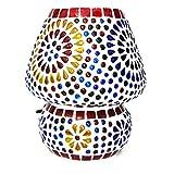 BY SIGRIS Signes Grimalt Lámpara Árabe de Mesa | Lampara Marroqui, Multicolor - Modelo 2
