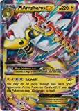 Mega/M Ampharos EX (XY Ancient Origins #28/98) Rare/Holo-Foil Pokemon Card