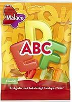Malaco マラコ ABCフルーツ味ハードキャンディ 4袋 x 70g スウェーデンのお菓子です [並行輸入品]