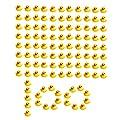 SOHAPY 100Pcs Mini Yellow Rubber Ducks Baby Shower Rubber…