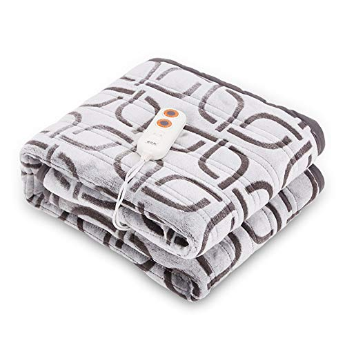 FDCVF verwarmbare deken voor Lancer underblanket, temperatuurregeling met 9 snelheidsniveaus, dubbele bediening, waterdicht en zonder gevaren, afneembare kabel, bescherming tegen oververhitting
