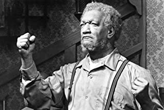 Sanford and Son Redd Foxx classic as Fred with fist in air! 24x36 TV Poster
