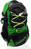 LIGHTCASE Rucksack mit LED | Beleuchtung Innen & Außen | LED Rucksack wasserabweisend | Aufladbar...