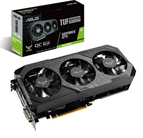 ASUS TUF Gaming X3 GeForce GTX 1660 Super OC Edition 6GB GDDR6 192-Bit IP5X High Refresh Rate...