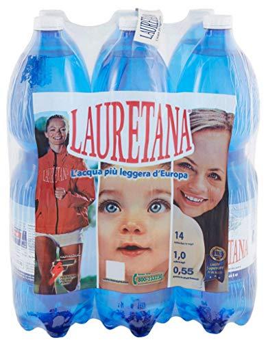 6 Bottiglie ACQUA LAURETANA NATURALE 1500 ML PET