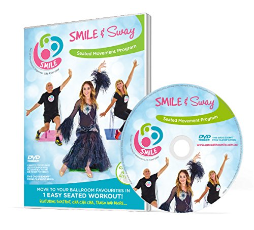 Smile & Sway - Workout By Dancing in Your Chair - Low Impact Exercise in Disguise DVD (PAL)