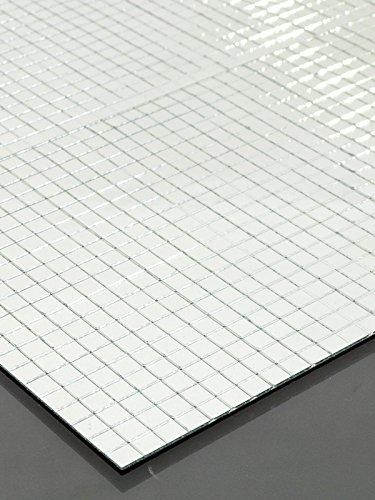 Eurolite 5040004W Spiegelmatte, 400 x 200 mm, 10 x 10 mm, Mehrfarbig, Einheitsgröße