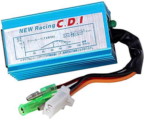 Analoge Racing CDI Zündbox für Minarelli/China 2 Takt Motoren wie Aprilia SR 50 / Yamaha Aerox/MBK Nitro/CPI (50ccm)