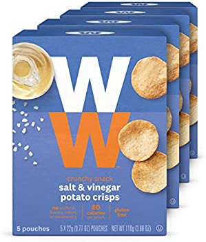 20-Count WW Salt & Vinegar Potato Crisps