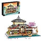 TARS Ideas - Kit de construcción de budokán japonés, compatible con Lego Creator (2288 piezas)