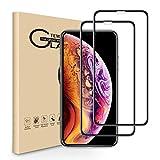 RHESHINE iPhone 11 Pro/XS/X Panzerglas Schutzfolie 5.8' [2 Stück] 3D Vollständige Abdeckung...