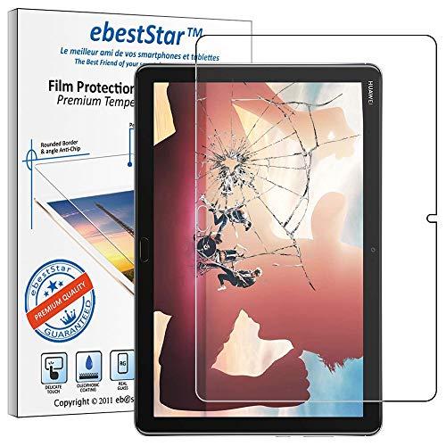 ebestStar - kompatibel mit Huawei MediaPad M5 Lite 10.1 Panzerglas Tablet 10.1 Schutzfolie Glas, Bildschirmschutz, Bildschirmschutzfolie 9H gehärtes Glas [M5 Lite 10.1: 243.4 x 162.2 x 7.7mm, 10.13]